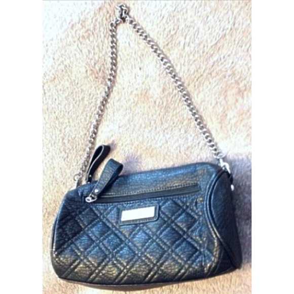 Kate Landry Handbags - Kate Landry Like New Green Quilted Chain Handbag